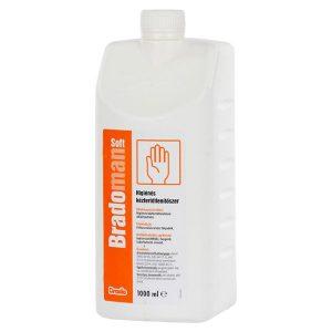 Bradoman Soft higiéniás kézfertőtlenítő 1000ml