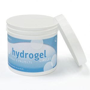 Hydrogél szintetikus bőr 7,5cm kör 48db