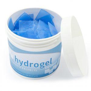 Hydrogél szintetikus bőr 2,5cm x 2,5cm 200db