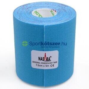 NASARA Kineziológiai Tapasz 7,5cm x 5m kék