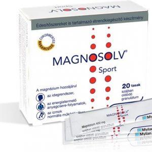 Magnosolv Sport 400mg granulátum 20db