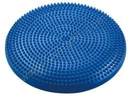 Tüskés ülőpárna 33cm kék