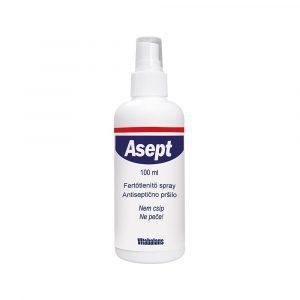Asept sebfertőtlenítő spray 100ml
